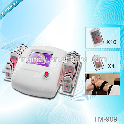 25% discount portable powerful body shaping 14 pads 650nm lipo laser weight loss body