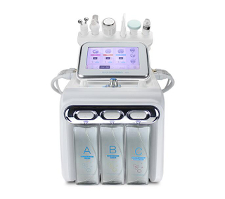 6in1 multifunction ultrasonic hydro water facial cleaning water dermabrasion machine
