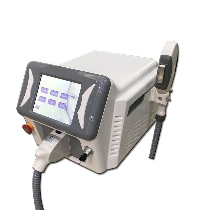 New model portable OPT SHR IPL hair removal machine 2019