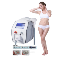 Portable new design q switched nd yag laser tattoo removal machine with CE approved