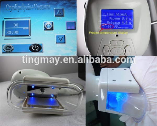 Fat freezing machine for weight loss cryolipolysis/cryolipolisis machine for sale with cavitation and rf