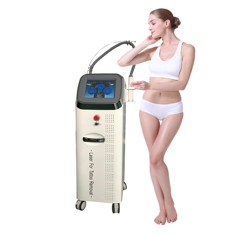 Factory price pigment removal picosecond laser tattoo removal machine nd yag laser