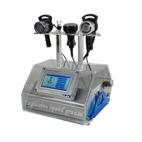 Portable cavitation ultrasonic rf beauty machine for weight loss and skin tightening